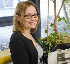 Claudia Schreiner, Teamleitung, Mediendesign, Druckvorstufe